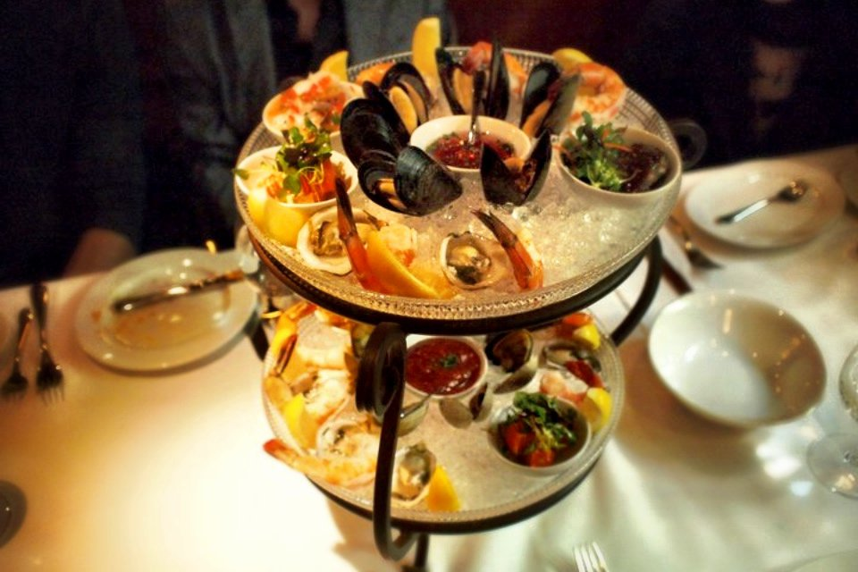 Seafood Tower - Blue Water Cafe