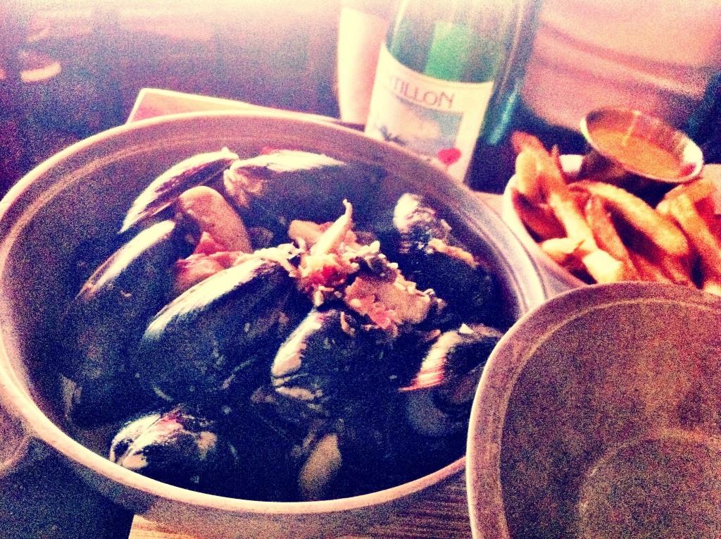 Mussels Normandy - Bier Craft