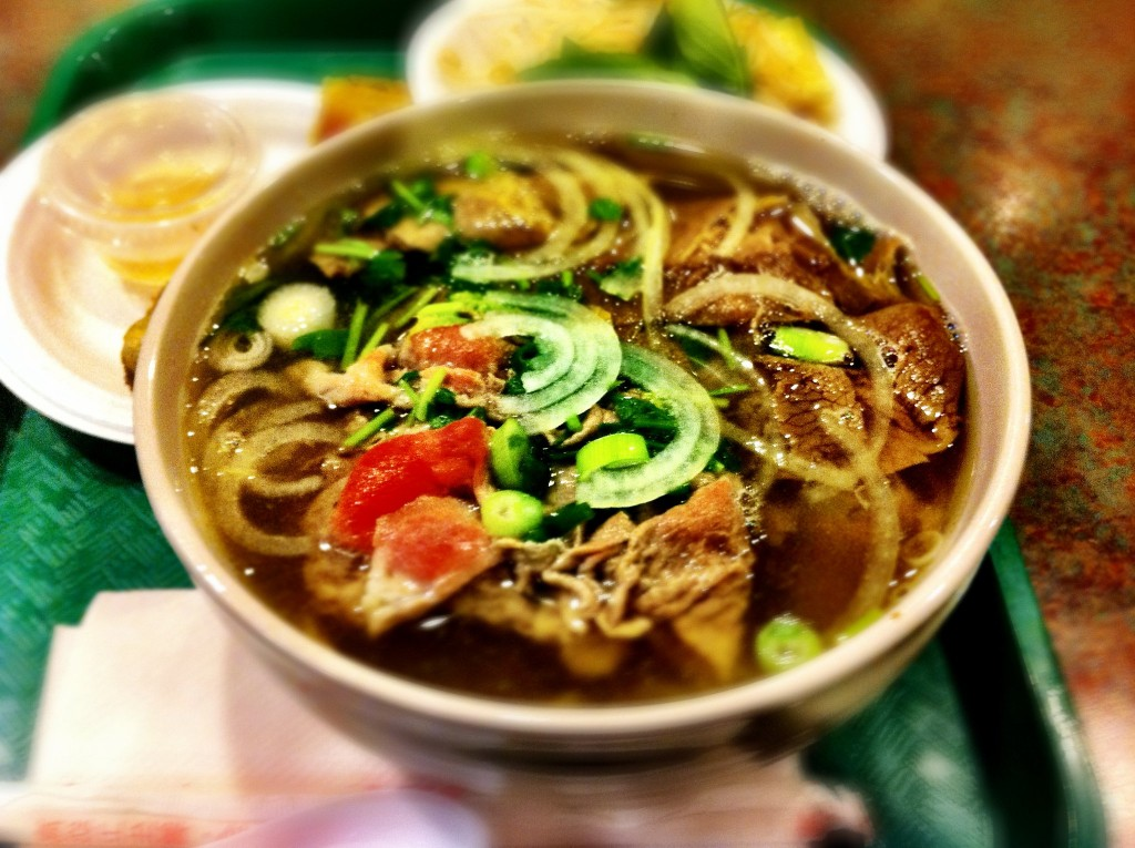 Beef Pho - Pho Express @ International Food Fair