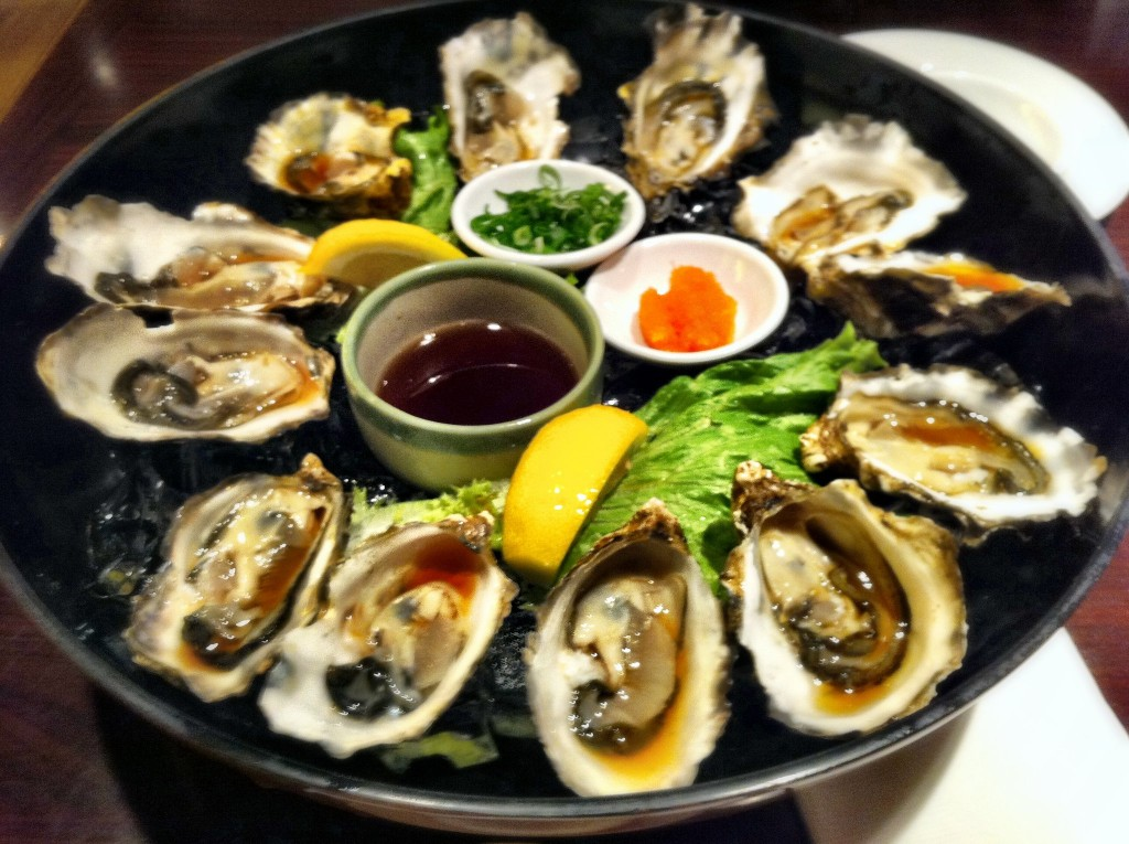 Fresh Oysters - Ebisu in Richmond