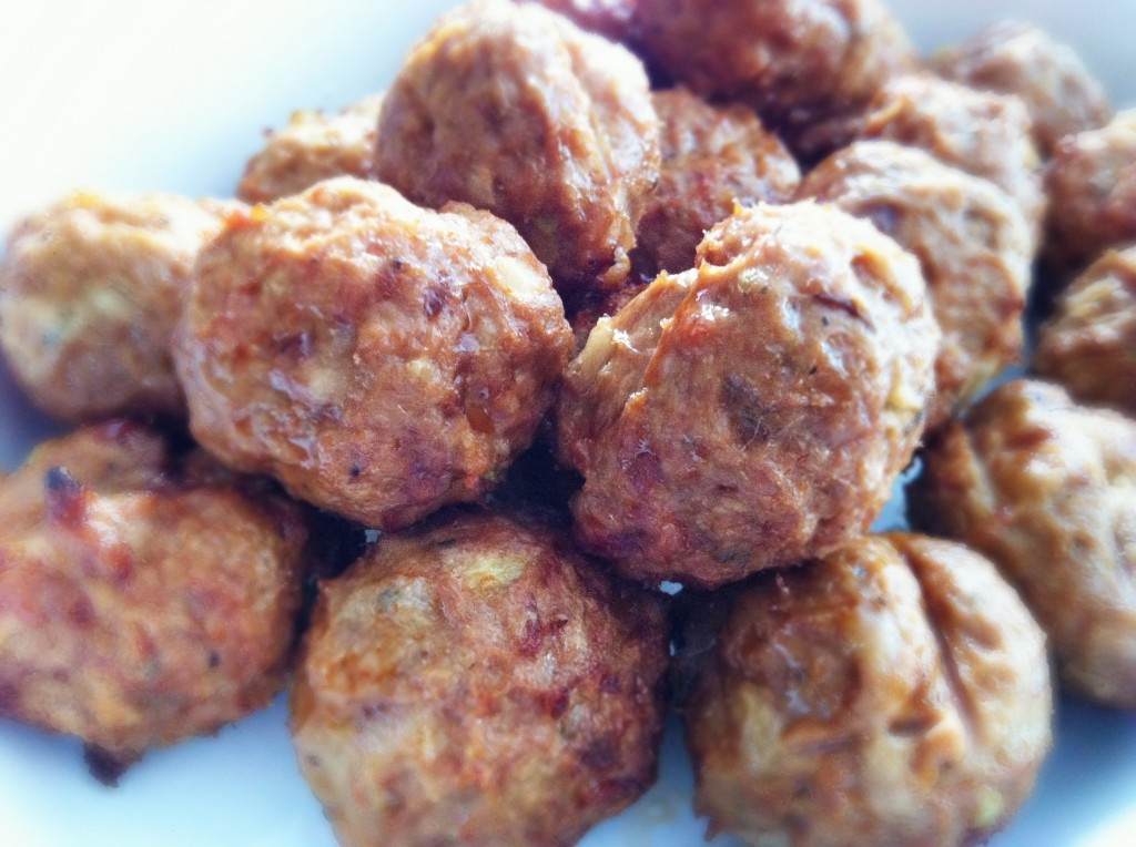 Home Made Turkey Meat Balls
