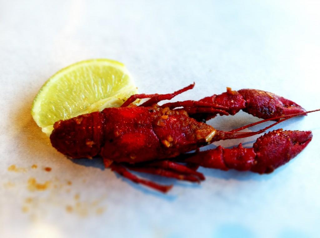 Crawfish in Hot Sauce - Crawfish King