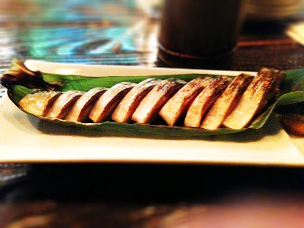 Grilled Saba - Hapa Izakaya