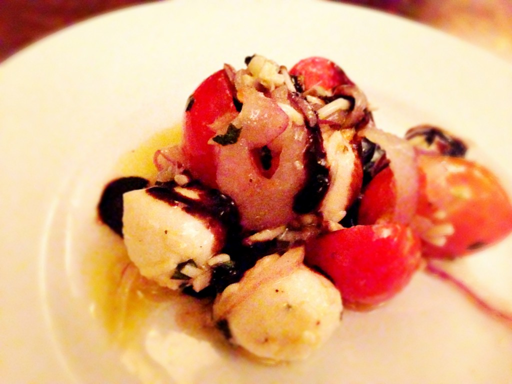 Boccocini and Tomato Salad