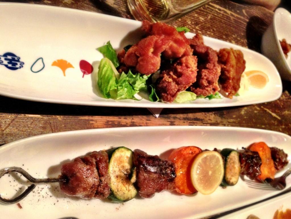 Chicken Karaage & BBQ Kalbi - Guu