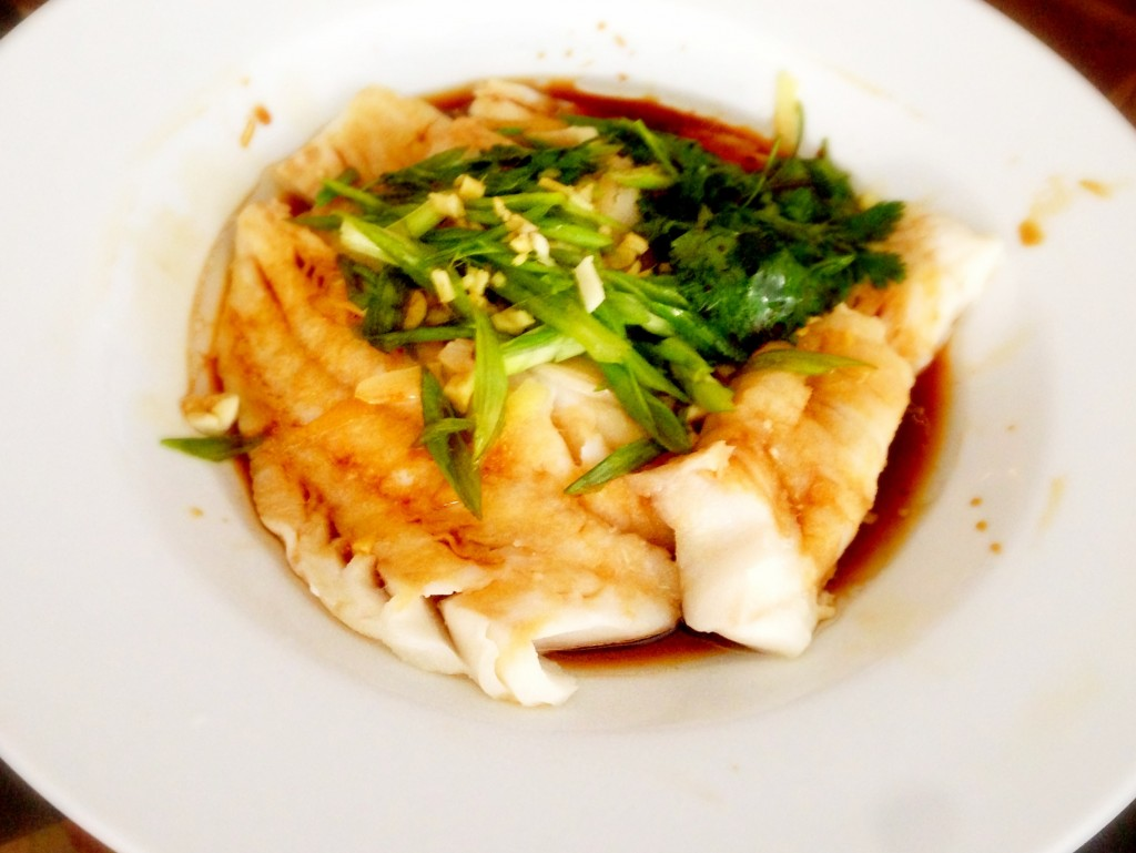 Steamed Wild Pacific Cod
