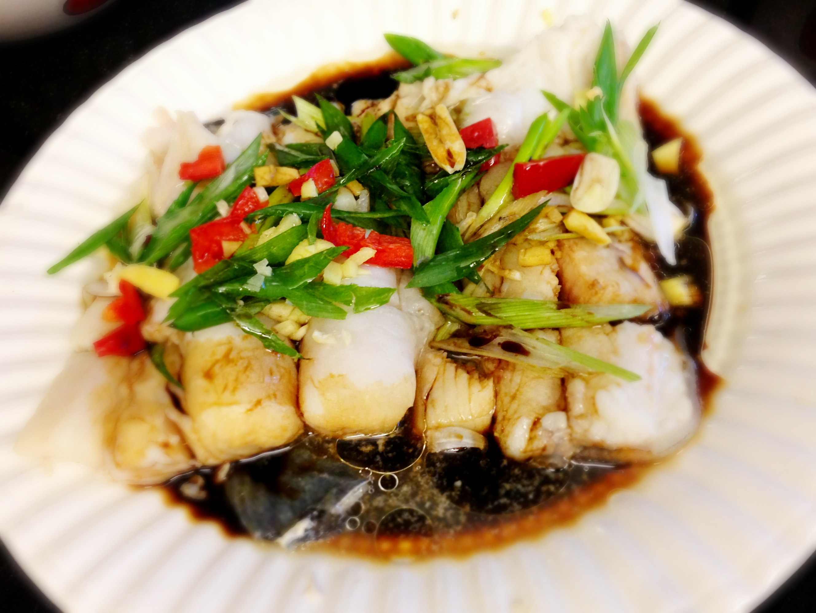 The art of steaming fish holy trinity of cantonese kitchen steamed halibut and ling cod forumfinder Images
