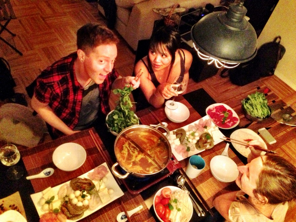 Vietnamese Hot Pot Party